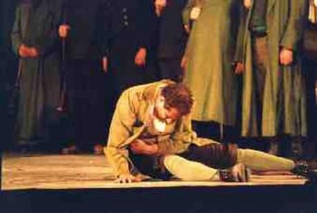 Rainer Zaun als Kaspar, Freischütz 1998